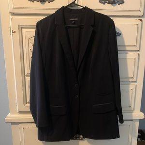 Size 16 Lane Bryant Black Blazer
